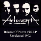 Balance Of Power mini-LP, 1992