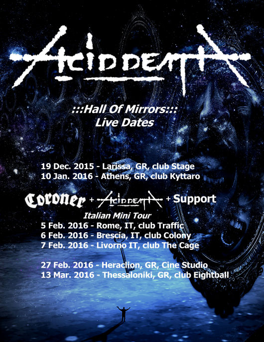 ACID DEATH - live dates2