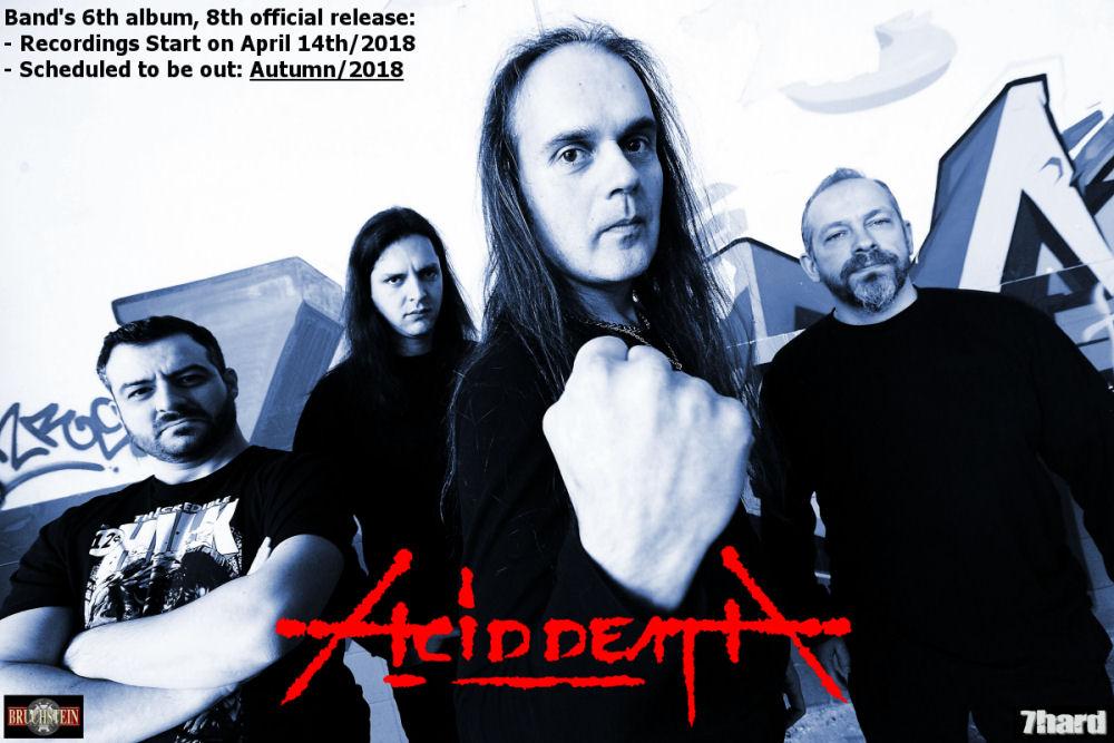 ACID DEATH - New Album