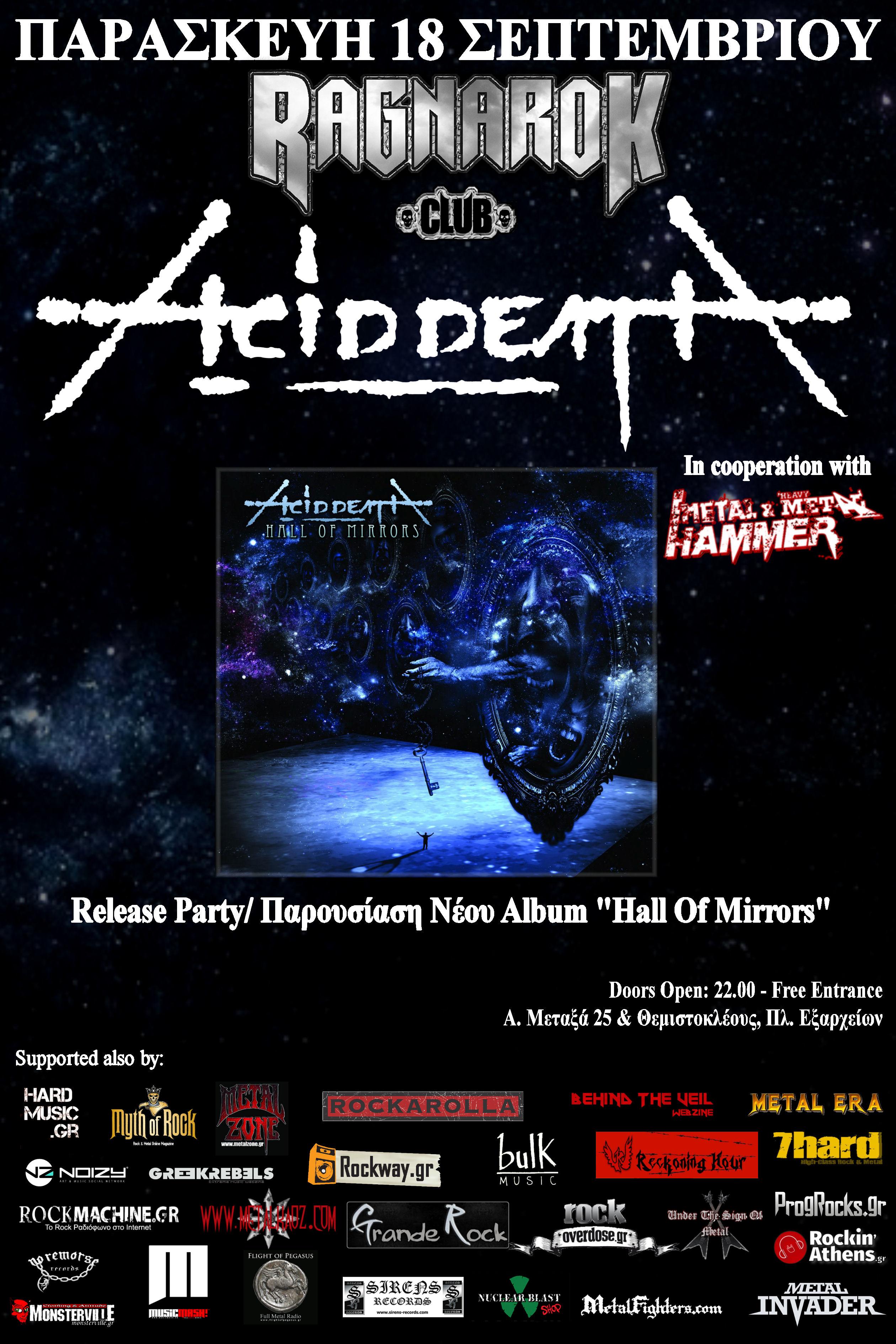 ACID DEATH Release Party