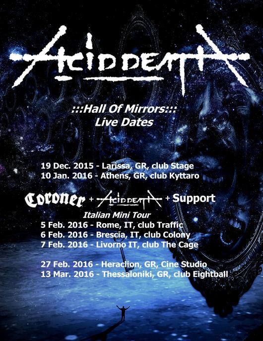 ACID DEATH - live dates2