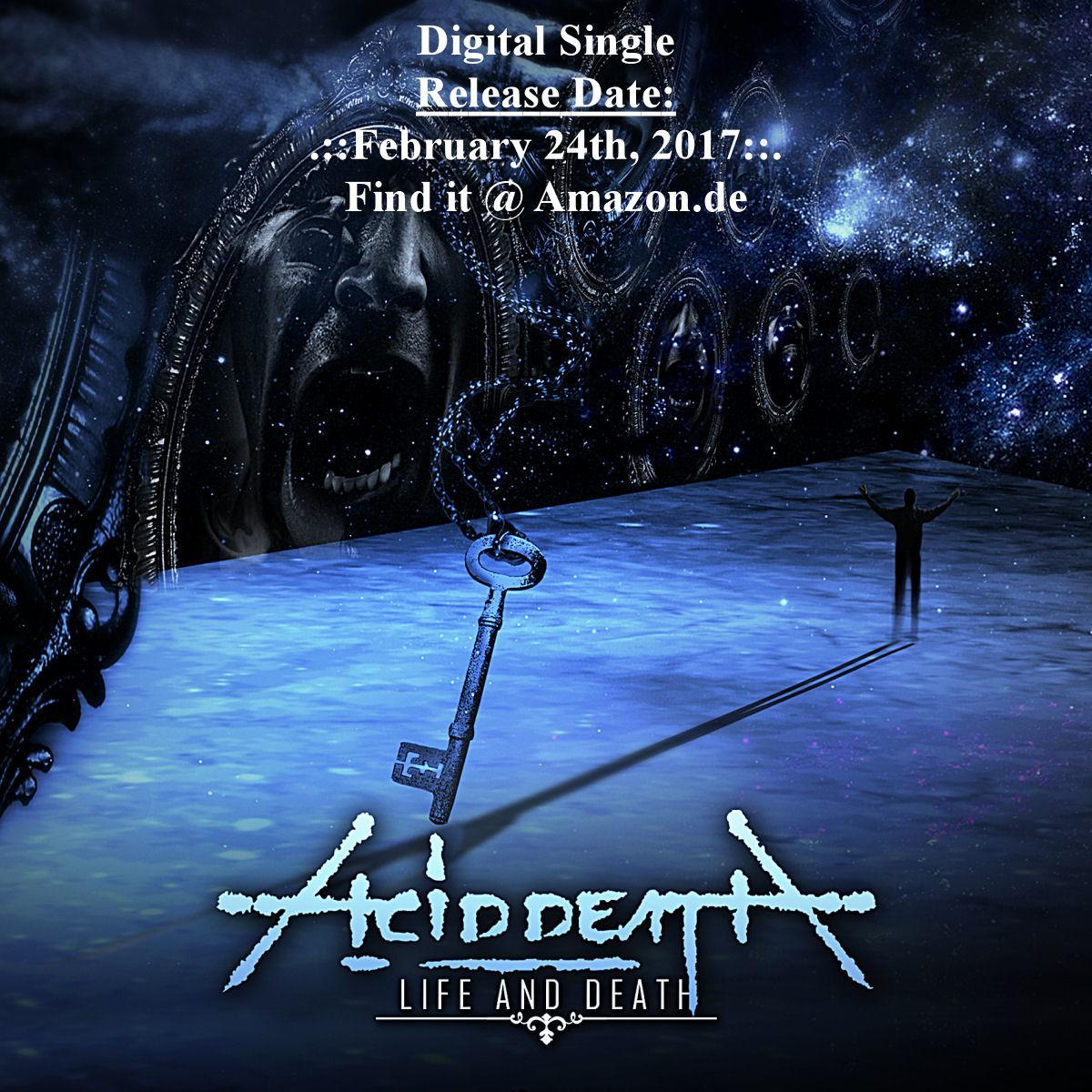 ACID DEATH - Life And Death feat. Jon Soti Digital Single 2017 amazon